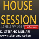 HOUSE SET - JANUARY 2012 - DJ STEFANO MUNARI
