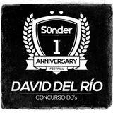 David del Río @ Concurso Aniversario Sünder Club