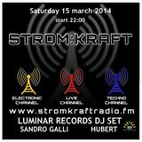 Sandro Galli @ Stromkraft Radio 15 March 2014