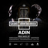 ADIN Live from Sasha & Digweed at Wearhouse Elementenstraat (16.03.2018)