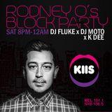 KIIS FM Rodney O's Block Party - Dj Fluke - 01/10/16