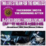 DJ CUTLOOSE 1 HOUR LIVE STREAM | CHARITY FUNDRAISER FOR BIRMINGHAM HOMELESS | THE MORNING AFTER