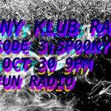 AGONY KLUB @ No Fun Radio 10/30/17