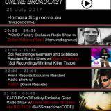 Zoltan Katona (Kato) Live@Homeradiogroove, Promo Factory Radio Show 2017 07 25 20-21h (GMT+1)
