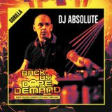 Dj Absolute - Live @ BBDD - 27th Aug 2017