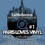 Paris Loves Vinyl #1 - Le Mellotron Live Nov 2016