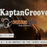 KaptanGroove - Oversound Radio 23.11.2014