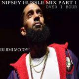 NIPSEY HUSSLE OR FT NIPSEY H. MIX PART 1..DJ JIMI MCCOY