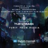Yuriy From Russia - Guest Mix for Melodic Progressions Show with Tyler Schauman @ Digitally Imported