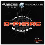 d-phrag - guest mix for Bequem Digital on Cuebase.FM