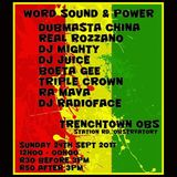 BOETA GEE - WORD SOUND AND POWER - 24 SEP 2017