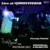 DJ MIKA lgs ESCOBARR (MC) live @ Jimmy Sue Bar - Carenage, Trinidad [dancehall / island pop] [raw]