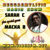 Reggaemylitis Radio Show ft Special Guest interview with Macka B