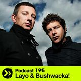 DTPodcast 195: Layo & Bushwacka!