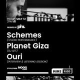 MIMS Radio Session #010 - Schemes, Planet Giza, Ouri