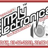 SIMPLY ELECTRONICA [SPECIAL EDITION] feat. M-ROTATION, JAYTRX & DEEP PHUNK (13-12-2013) pt. 1 of 5
