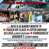 The Way We Were Boat Party Hosted by Touch of Class - Desi G - Latest - 5th Avenue