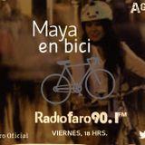 Aguante entrevista a Maya en Bici y prodefut programa transmitido el día7 de julio 2017 por Radio FA