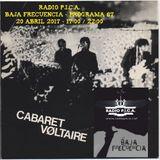 PODCAST BAJA FRECUENCIA RÀDIO P.I.C.A. - PROGRAMA 87 - CABARET VOLTAIRE