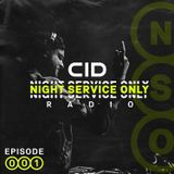 Night Service Only Radio: Episode 001