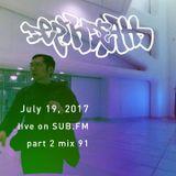 Depth Death / 2017 Jul 19 / mix 91 // part 2