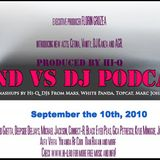 BANDvsDJ Podcast - September 2010