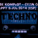 REBE KOMPLOT -@ CYAN CLUB HAPPYBIRTHDAY REBE - JUL.2014