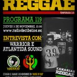 PROGRAMA 119 03-11-2016 WARRIOR E & ATLANTIDA SOUND