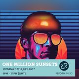 One Million Sunsets 17th July 2017