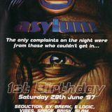 Brisk - Asylum 1st Birthday, Bowlers, Manchester (28.6.97)