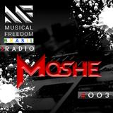 Musical Freedom Brasil Radio #003: Moshe