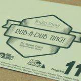Rub-a-dub Ting! Program 11 - 18/01/2016