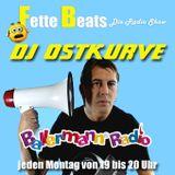 FETTE BEATS Die Radio Show mit DJ Ostkurve vom 5 Dez auf Ballermann Radio!