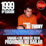 1999, 5ªEdicion, PROHIBIDO NO BAILAR [03. DJ THONY]