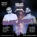The Bassment 12/02/16 w/ Deejay Theory