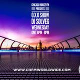 DJ SOLVEG O.X.O show on Chicago House FM Wednesday 19.09.2018