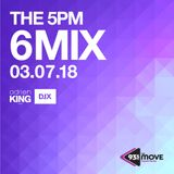 DJX - 93.5 THE MOVE - 5PM 6 MIX - MARCH 7, 2018