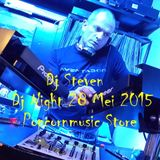Dj Steven ( La Bush ) @ Dj Night Popcornmusic Store 28 mei 2015