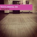 Moif's Tech & Minimal Mix 10/04/12