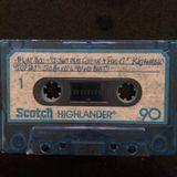 Various 1983 Songs Scotch Blue Highlander Cassette
