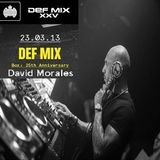 David Morales @ Ministry Of Sound, London - 23.03.2013 - (25th Anniversary of Def Mix)