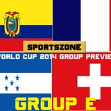 Sportszone's World Cup 2014 Preview: Group E