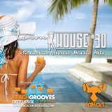 townHOUSE 30~Tropical, Deep & Vocal House mix~BeachGrooves.com Ibiza 25-Jul-2016