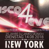 25 Jahre DJ JAMES MUNICH - Live Megamix