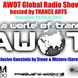 AWOT 16.01.2012 Trance Arts and Stone&Mistero In the Mix
