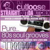 80'S SOUL GROOVES | DJ CUTLOOSE | LIVE ON THROUGH MUSIC WE LIVE ON