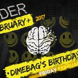 Disorder Dimebag´s birthday  10-2-17