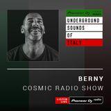 BERNY - Cosmic Radio #027 (Underground Sounds Of Italy) - June 2019