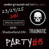 Party #8 -- UnderGroundRadioMix -- Mix AcidCore -- 23/06/2017