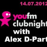 YouFM Clubnight with Alex D-Part - 14.07.2012